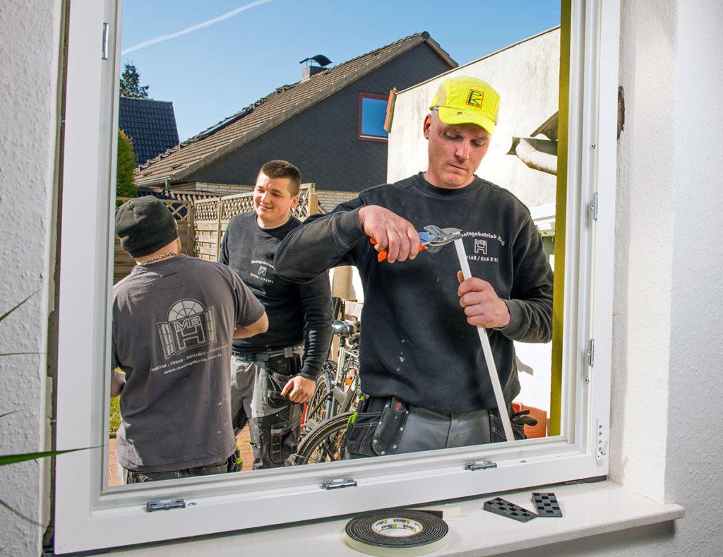 Fenstereinbau vom Montagebetrieb Haß bei Kiel