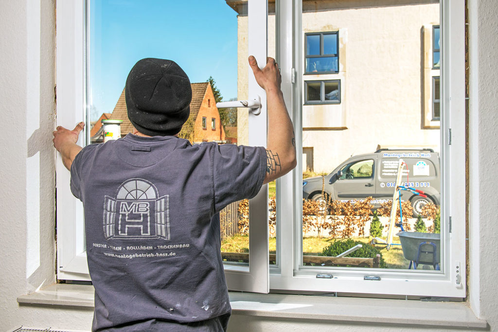Fenstereinbau vom Fachmann