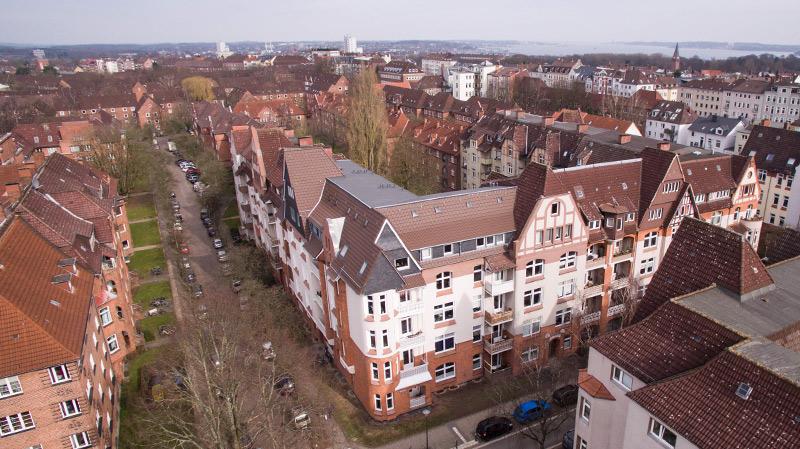 Altbausanierung in der Innenstadt von Kiel