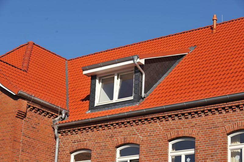 Dachgaube mit Kunststofffenster