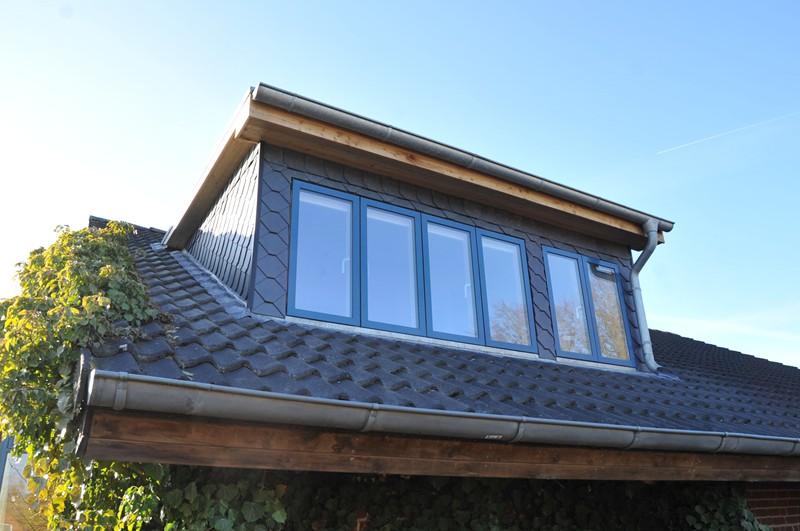 Fenster in einer Dachgaube