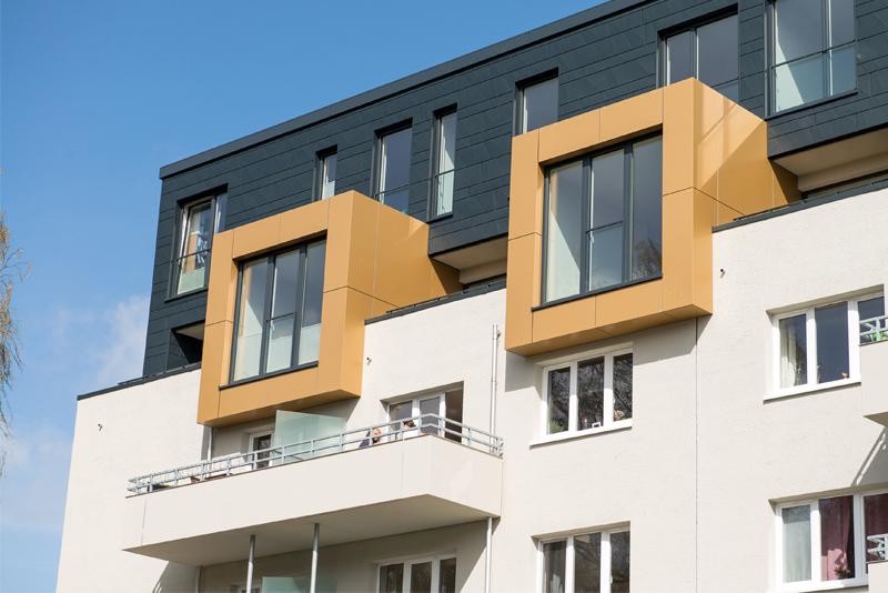 Großkundenprojekt Fenstereinbau